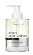 Bielenda Professional MICELLAR LIQUID CLEANSER Płyn micelarny do demakijażu - BIELENDA PROFESSIONAL MICELLAR LIQUID CLEANSER - bp_face_program_micellar_liquid-cleanser_4-400x400.png