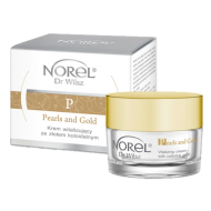 Norel (Dr Wilsz) PEARLS AND GOLD VITALIZING CREAM WITH COLLOIDAL GOLD Krem witalizujący ze złotym pyłem (DK078) - Norel (Dr Wilsz) PEARLS AND GOLD VITALIZING CREAM WITH COLLOIDAL GOLD - dk078_perly_krem_kpl_l.png