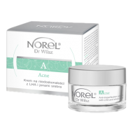 Norel (Dr Wilsz) ACNE ANTI-IMPERFECTION WITH LHA AND SILVER IONS Krem na niedoskonałości z LHA i jonami srebra (DK134) - Norel (Dr Wilsz) ACNE Krem na niedoskonałości z LHA i jonami srebra - dk134_acne_krem_niedoskonalosci_kpl_l.png